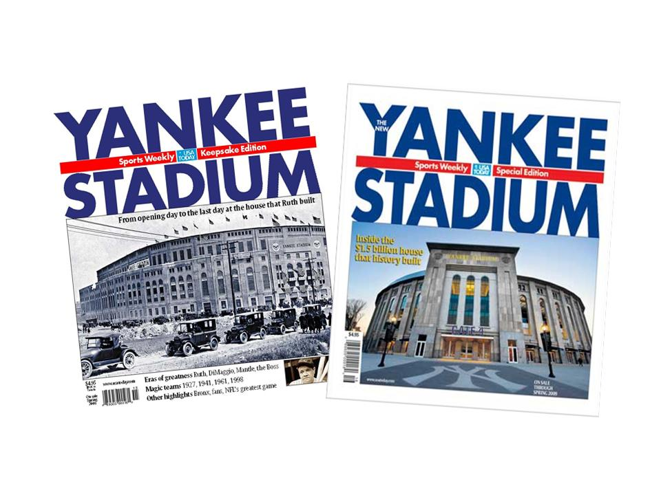 Yankee Stadium: Then & Now