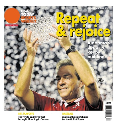01/09/2013 Issue of Sports Weekly