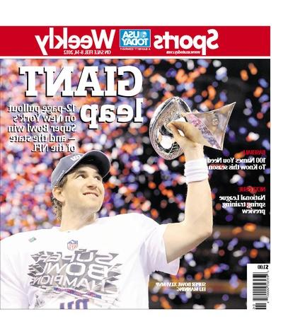 02/08/2012 Issue of Sports Weekly