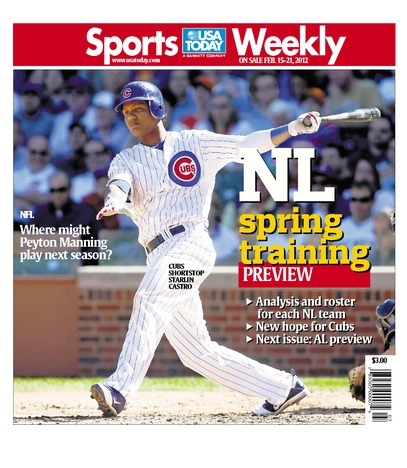 02/15/2012 Issue of Sports Weekly