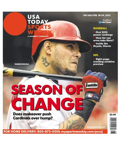 02/18/2015 Issue of Sports Weekly