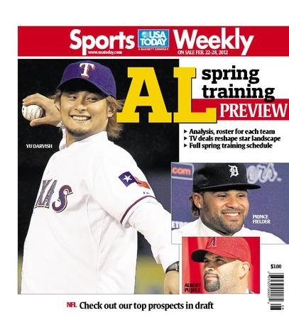 02/22/2012 Issue of Sports Weekly