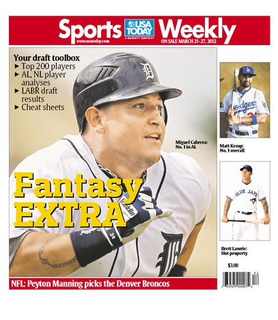 03/21/2012 Issue of Sports Weekly