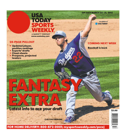 03/25/2015 Issue of Sports Weekly