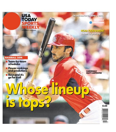 03/26/2014 Issue of Sports Weekly