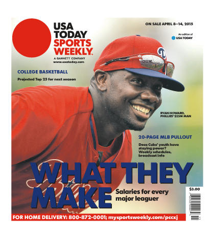 04/08/2015 Issue of Sports Weekly