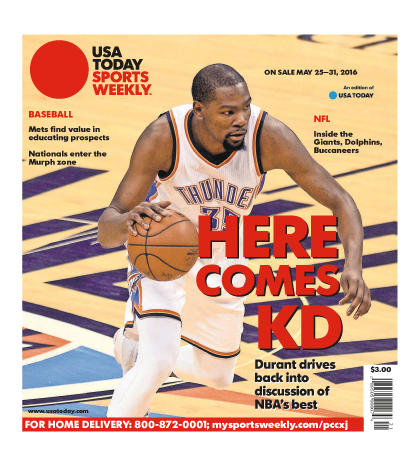 05/25/2016 Issue of Sports Weekly