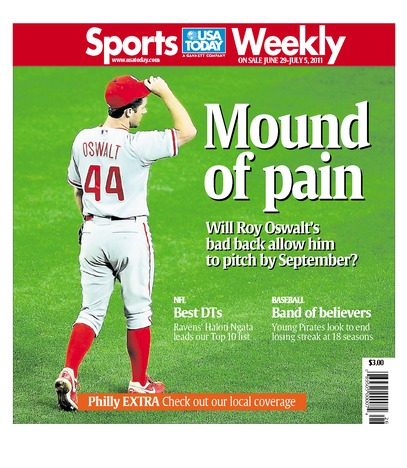 06/29/2011 Issue of Sports Weekly