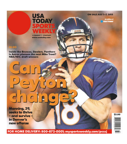 07/01/2015 Issue of Sports Weekly