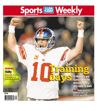 07/25/2012 Issue of Sports Weekly