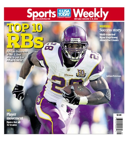 08/03/2011 Issue of Sports Weekly