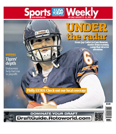 08/17/2011 Issue of Sports Weekly