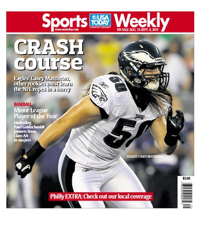 08/31/2011 Issue of Sports Weekly