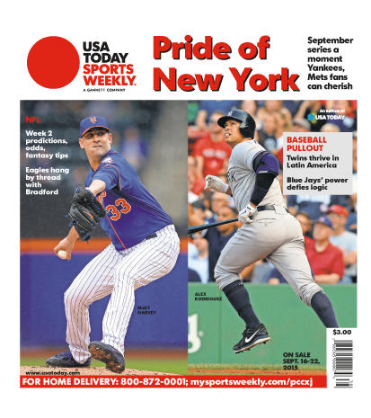09/16/2015 Issue of Sports Weekly