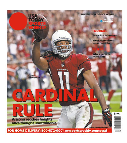 09/30/2015 Issue of Sports Weekly