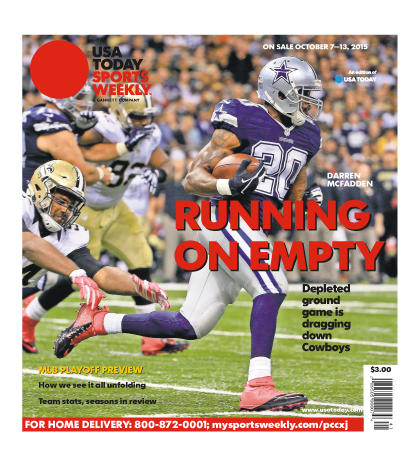 10/07/2015 Issue of Sports Weekly