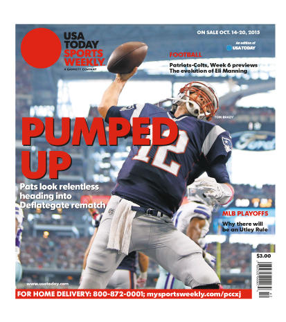 10/14/2015 Issue of Sports Weekly