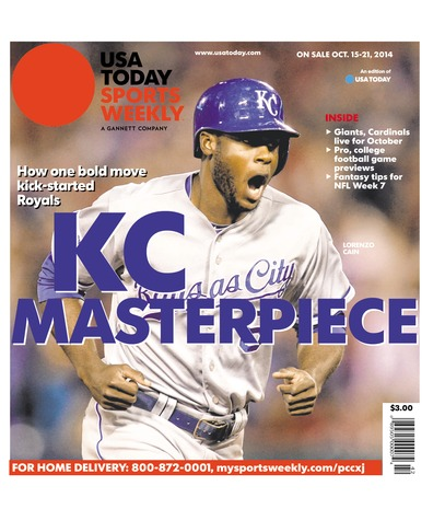 10/15/2014 Issue of Sports Weekly