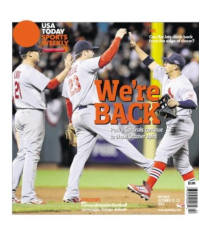 10/17/2012 Issue of Sports Weekly
