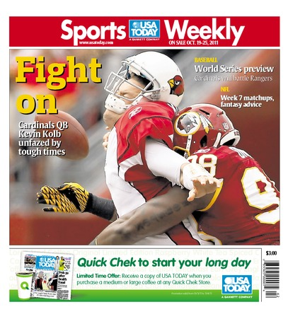 10/19/2011 Issue of Sports Weekly