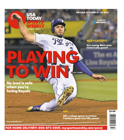 10/21/2015 Issue of Sports Weekly