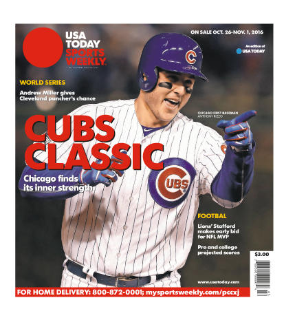 10/26/2016 Issue of Sports Weekly