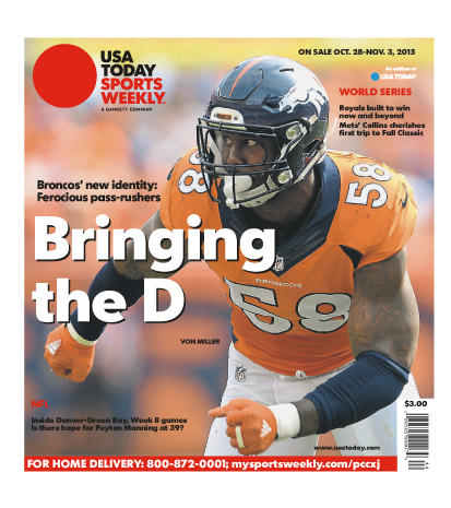 10/28/2015 Issue of Sports Weekly
