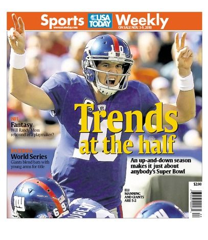 11/03/2010 Issue of Sports Weekly