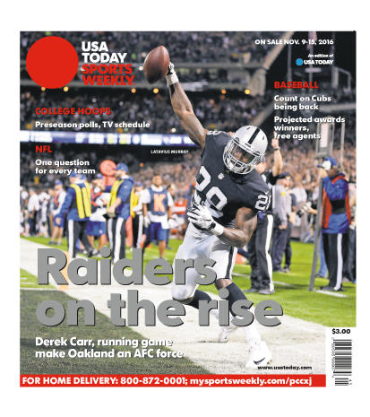 11/09/2016 Issue of Sports Weekly