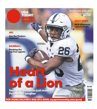 11/16/2016 Issue of Sports Weekly