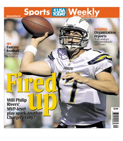 11/17/2010 Issue of Sports Weekly