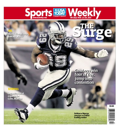 11/23/2011 Issue of Sports Weekly