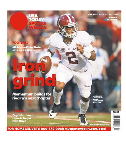 11/23/2016 Issue of Sports Weekly