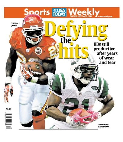 11/24/2010 Issue of Sports Weekly