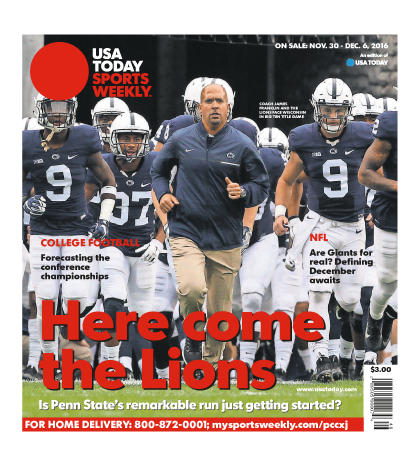 11/30/2016 Issue of Sports Weekly