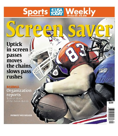 12/08/2010 Issue of Sports Weekly