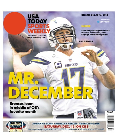 12/10/2014 Issue of Sports Weekly
