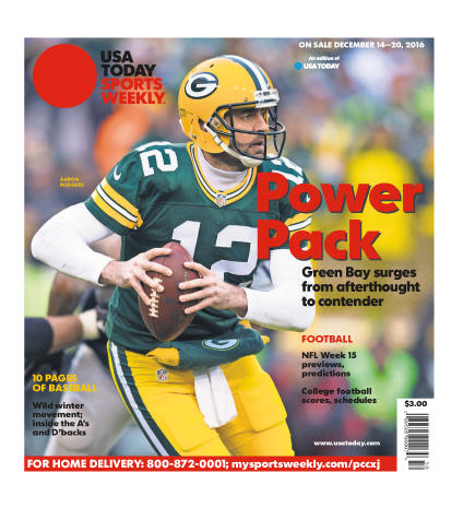 12/14/2016 Issue of Sports Weekly