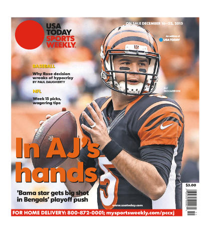 12/16/2015 Issue of Sports Weekly