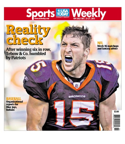 12/21/2011 Issue of Sports Weekly