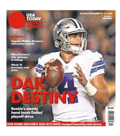 12/21/2016 Issue of Sports Weekly