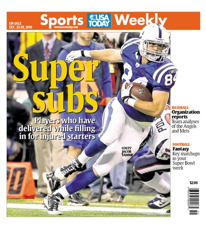 12/22/2010 Issue of Sports Weekly