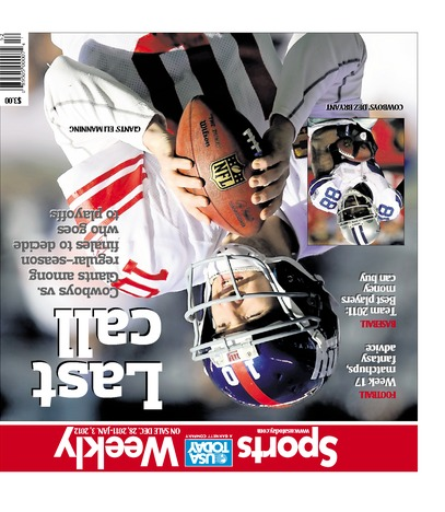 12/28/2011 Issue of Sports Weekly