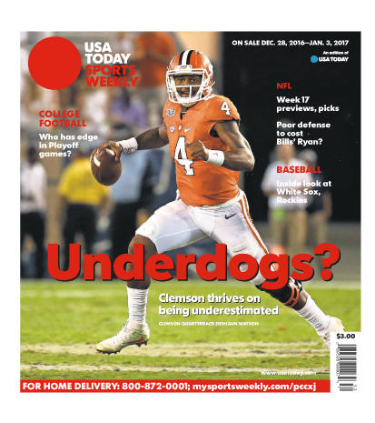 12/28/2016 Issue of Sports Weekly