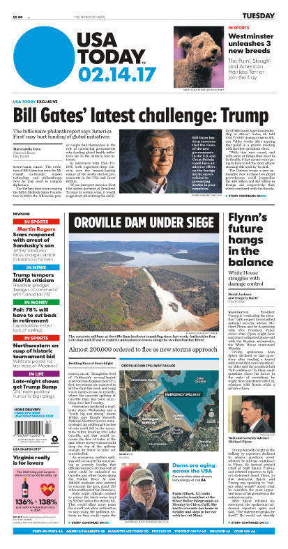 02/14/2017 Issue of USA TODAY