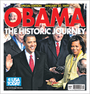 January 20th Update of Obama, The Historic Journey Special Edition
