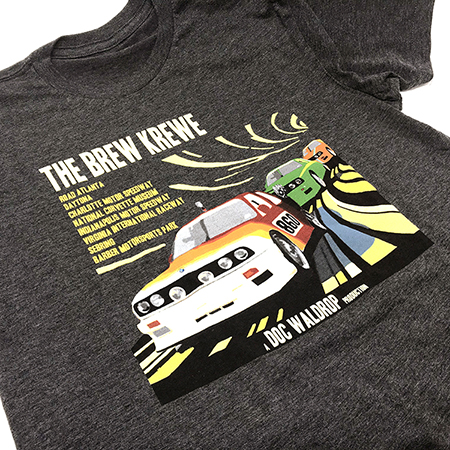#SAVEKENNY OFFICIAL BREW KREWE RACING 2019 SHIRTS MAIN