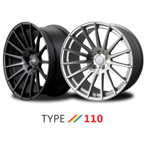 "MiRO TYPE 110 wheel - 19"" and 20"""