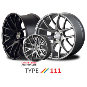 "MiRO TYPE 111 wheel - 18"", 19"", and 20"""