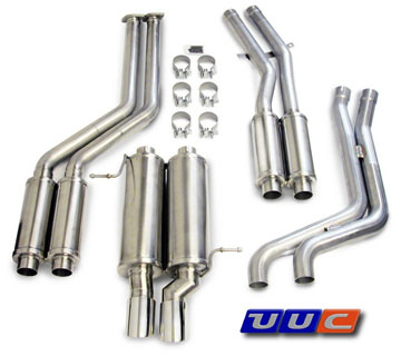Corsa Twin Silencer Exhaust (TSE3) for '99-'00 E46 328/323